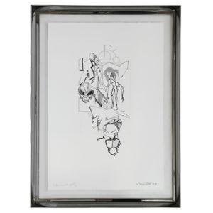 Lithographie Dondi white